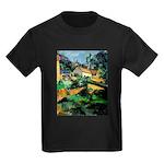 Buuilding Landscape Kids Dark T-Shirt