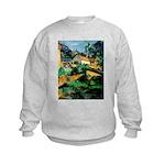 Buuilding Landscape Kids Sweatshirt