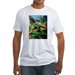 Buuilding Landscape Fitted T-Shirt