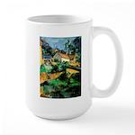 Buuilding Landscape Large Mug