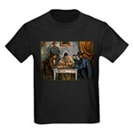 Card Players Kids Dark T-Shirt