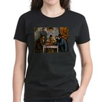 Card Players Women's Dark T-Shirt