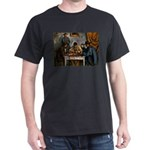 Card Players Dark T-Shirt
