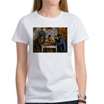 Card Players Women's T-Shirt