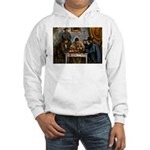 Card Players Hooded Sweatshirt