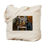 Card Players Tote Bag