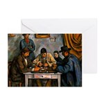 Card Players Greeting Cards (Pk of 10)