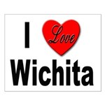 I Love Wichita Kansas Small Poster