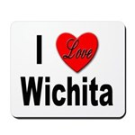 I Love Wichita Kansas Mousepad