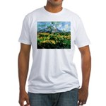 Mt. San Victoire Fitted T-Shirt