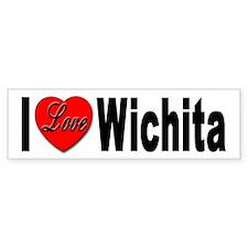 I Love Wichita Kansas Bumper Bumper Sticker