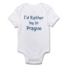 Rather be in Prague Infant Bodysuit