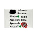 Family Irish Rectangle Magnet