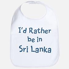 Rather be in Sri Lanka Bib
