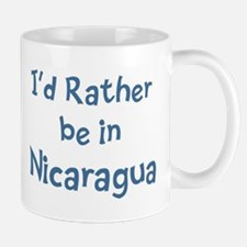 Rather be in Nicaragua Mug