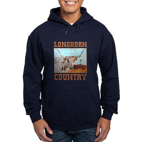 Longhorn country Hoodie (dark)