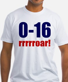 0-16 Winless Roar Fitted USA T-Shirt