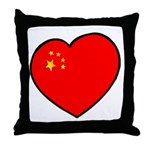 China Heart Throw Pillow