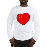 China Heart Long Sleeve T-Shirt