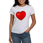 China Heart Women's T-Shirt