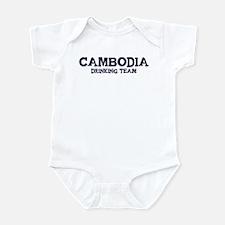 Cambodia drinking team Infant Bodysuit