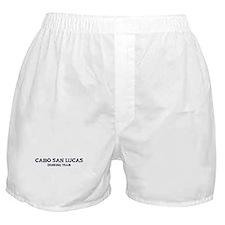 Cabo San Lucas drinking team Boxer Shorts