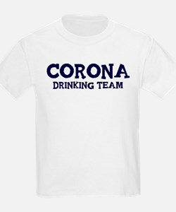 Corona drinking team T-Shirt