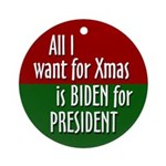 Joe Biden 2008 Xmas Ornament