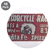 """Santa Fe Speedway 3.5"""" Button (10 pack)"""