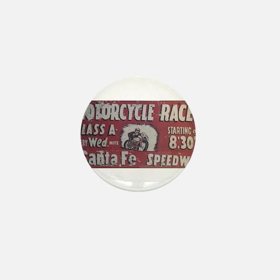Santa Fe Speedway Mini Button
