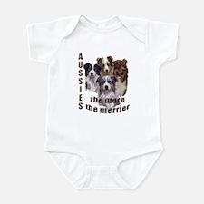 Many Aussies Infant Bodysuit