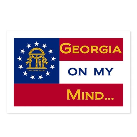 Georgia on my mind Postcards (Package of 8)