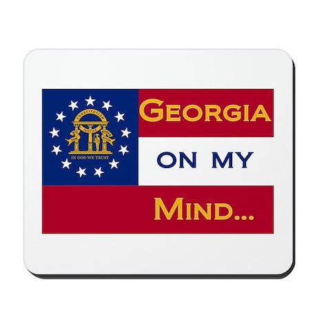 Georgia on my mind Mousepad