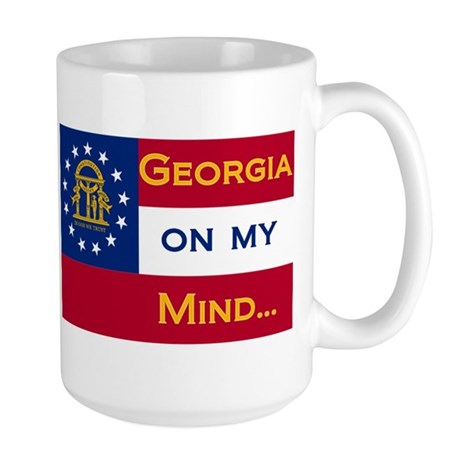 Georgia on my mind Large Mug
