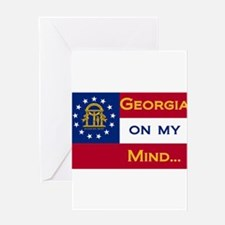 Georgia on my mind Greeting Card