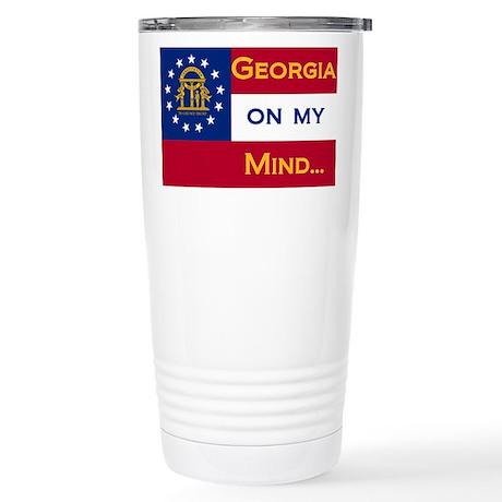 Georgia on my mind Stainless Steel Travel Mug
