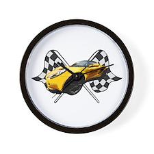 Lotus Racing Wall Clock