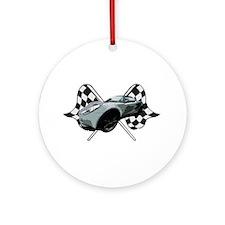 Lotus Racing Ornament (Round)