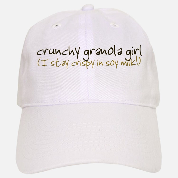 Crunchy Granola Girl - Baseball Baseball Cap