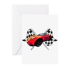 Lotus Racing Greeting Cards (Pk of 10)