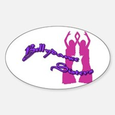 Bellydance Sisters Oval Decal