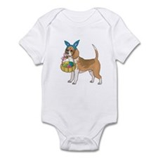 Beagle Easter Infant Bodysuit