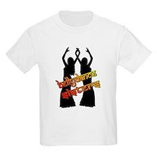 Bellydance Sisters fire Kids T-Shirt