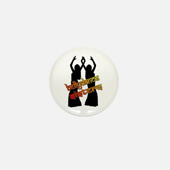 Bellydance Sisters fire Mini Button