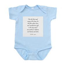 JOHN  19:20 Infant Creeper