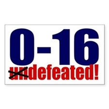 0-16: Defeated! Rectangle Decal