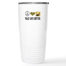 Peace Love Hunting Travel Mug