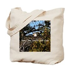 Llano county bald eagles Tote Bag