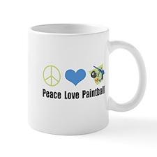 Peace Love Paintball Mug