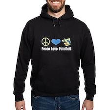 Peace Love Paintball Hoodie